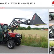 STOLL FE EcoLine фронтальные погрузчики  – правильный выбор для любительского использования.
