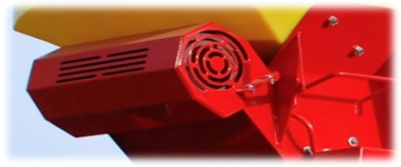 Электрический нагнетатель воздуха мелкосемянки PS  APV