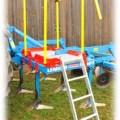 PPS  M1 дополнительное оборудование - модульный комплект лестницы для заполнения,  мелкосемянная сеялка APV, сеялка для подсева трав