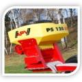 Ps 120 M1 сеялка для подсева трав, мелкосемянная сеялка объём бункера 120 л