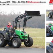 STOLL FC CompactLine погрузчики для компактных тракторов
