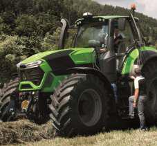 Дойц Фар 9340 ттв Deutz Fahr 9340 TTV мощный  в работе купить