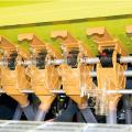 Junkkari - семяпроводы. механические посевной комплекс, общий вид