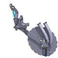 Junkkari сошник M серия механические посевной комплекс общий вид