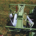 Обмоточный стол с прутково-цепным транспортером, Combi_Pack_комбипак кроне принцип упаковки , прессподборщик упаковщик в плёнку под МТЗ