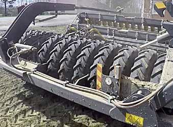 junkkari eyrfhb юнккари юнкари посевной комплекс W700 , прикатывающий колесный блок перед сошниками