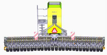 junkkari eyrfhb юнккари юнкари посевной комплекс W700 сошники с междурядьем 15,9 , давление от 20 до 100 кг