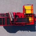 EVO 280 GRIMME общий вид сверху сепарирующее устройство 1